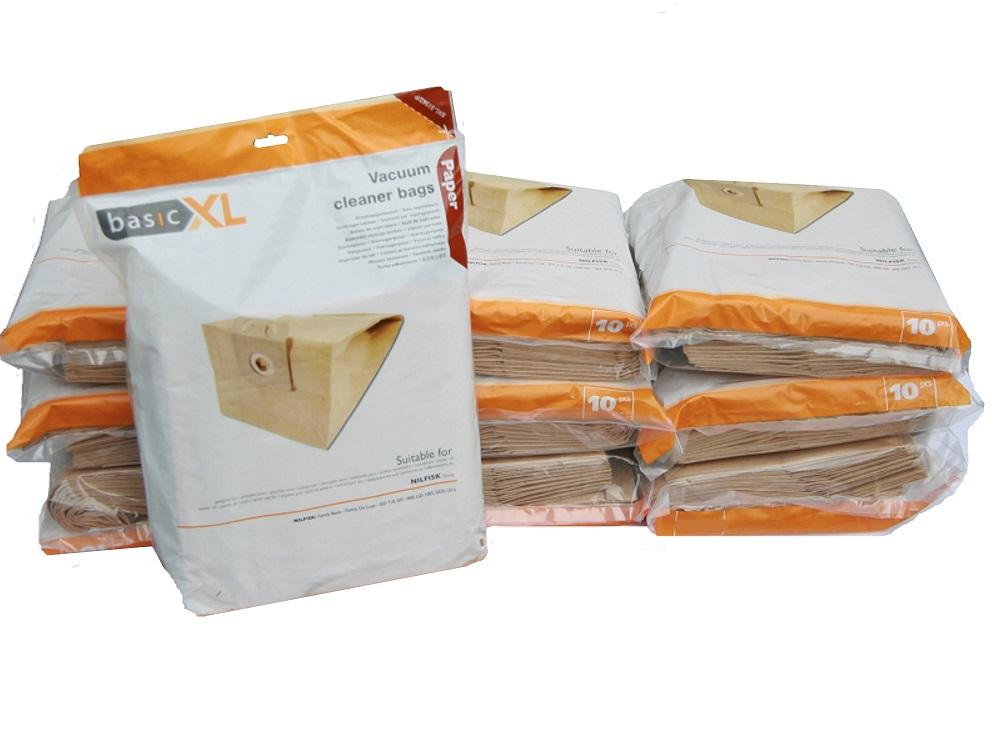 10 pakker nilfisk gd hd 1010 business gd710 gd gdd hds 2000 st vsugerposer fragtfri. Black Bedroom Furniture Sets. Home Design Ideas